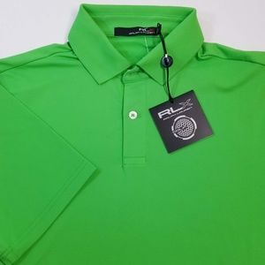 RLX Ralph Lauren Green Polo Shirt Sz S NWT $90